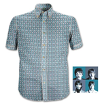 "Camicia The Beatles ""1967"" Heads Pattern"