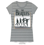 T-shirt The Beatles da donna Leaping