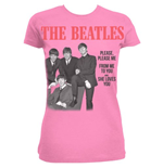 T-shirt The Beatles da donna Please Please Me
