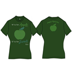 T-shirt The Beatles da donna A Is For Apple