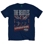 T-shirt The Beatles  Liverpool England 1962