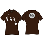 T-shirt The Beatles da donna With the Beatles