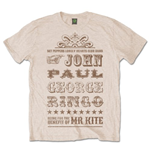 T-shirt The Beatles Mr Kite