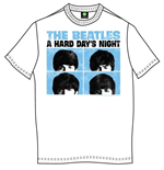 T-shirt The Beatles Hard Days Night Pastel