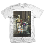 T-shirt Star Wars Three Droids