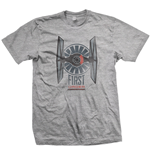 T-shirt Star Wars First order distress