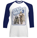 T-shirt Star Wars Retro Droids