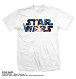 T-shirt Star Wars - Space Montage 3