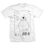 T-shirt Star Wars BB-8 Tech