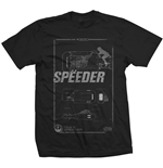 T-shirt Star Wars Rey's Speeder Tech