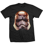 T-shirt Star Wars Phasma Big Head
