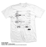 T-shirt Star Wars X-Wing Fighter
