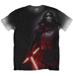 T-shirt Star Wars Kylo Side Print