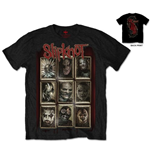 T-shirt Slipknot New Masks