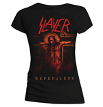 T-shirt Slayer da donna Repentless Crucifix