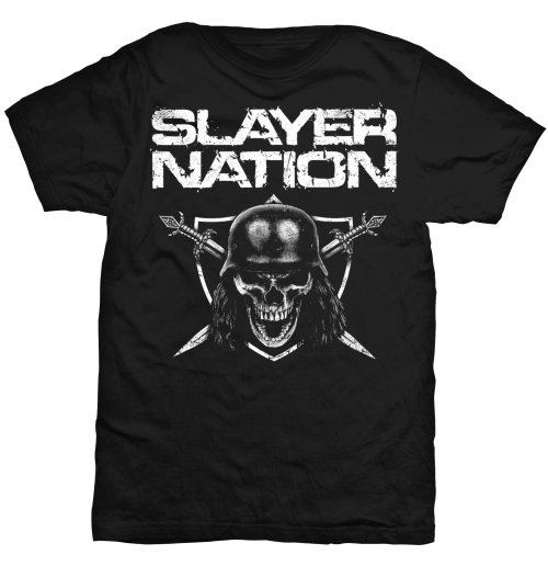T-shirt Slayer Slayer Nation