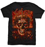 T-shirt Slayer Crowned Skull