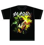 T-shirt Slash Flames