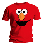 T-shirt Sesame Street Elmo's Face Red