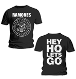 T-shirt Ramones Hey Ho (Front & Back)