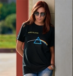 T-shirt Pink Floyd da donna Dark Side of the Moon