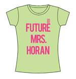 T-shirt One Direction da donna Future Mrs Horan