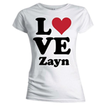 T-shirt One Direction da donna Love Zayn