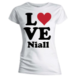 T-shirt One Direction da donna Love Niall