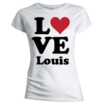 T-shirt One Direction da donna Love Louis