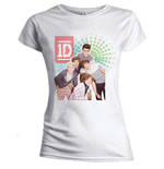 T-shirt One Direction da donna Colour test