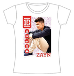 T-shirt One Direction da donna 1D Zayn Symbol Field