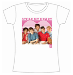 T-shirt One Direction da donna 1D Stole My Heart