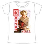 T-shirt One Direction da donna 1D Niall Symbol Field