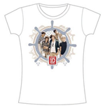 T-shirt One Direction da donna Nautical