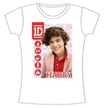T-shirt One Direction da donna 1D Harry Symbol Field
