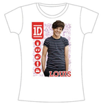 T-shirt One Direction da donna 1D Louis Symbol Field