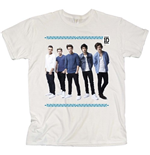 T-shirt One Direction da donna College Wreath