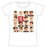 T-shirt One Direction da donna Polaroid Band