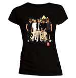 T-shirt One Direction da donna Flowers