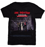 T-shirt One Direction da donna San Siro Movie