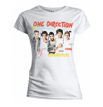 T-shirt One Direction da donna Individual Shots