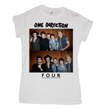 T-shirt One Direction da donna Four