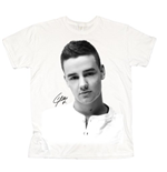 T-shirt One Direction da donna Liam Solo B&W