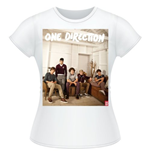 T-shirt One Direction da donna Band Lounge Colour