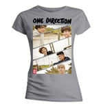 T-shirt One Direction da donna Band Sliced