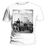 T-shirt One Direction da donna Band Lounge Black & White