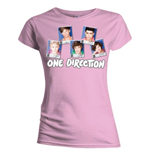 T-shirt One Direction da donna Polaroid