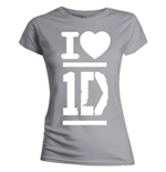 T-shirt One Direction da donna - I Love
