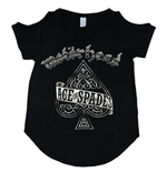 T-shirt Motorhead Ace of Spades da donna