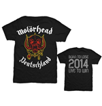 T-shirt Motorhead World Cup Germany